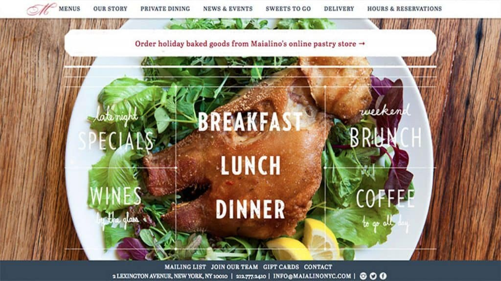 What Makes an Exceptional Restaurant Website